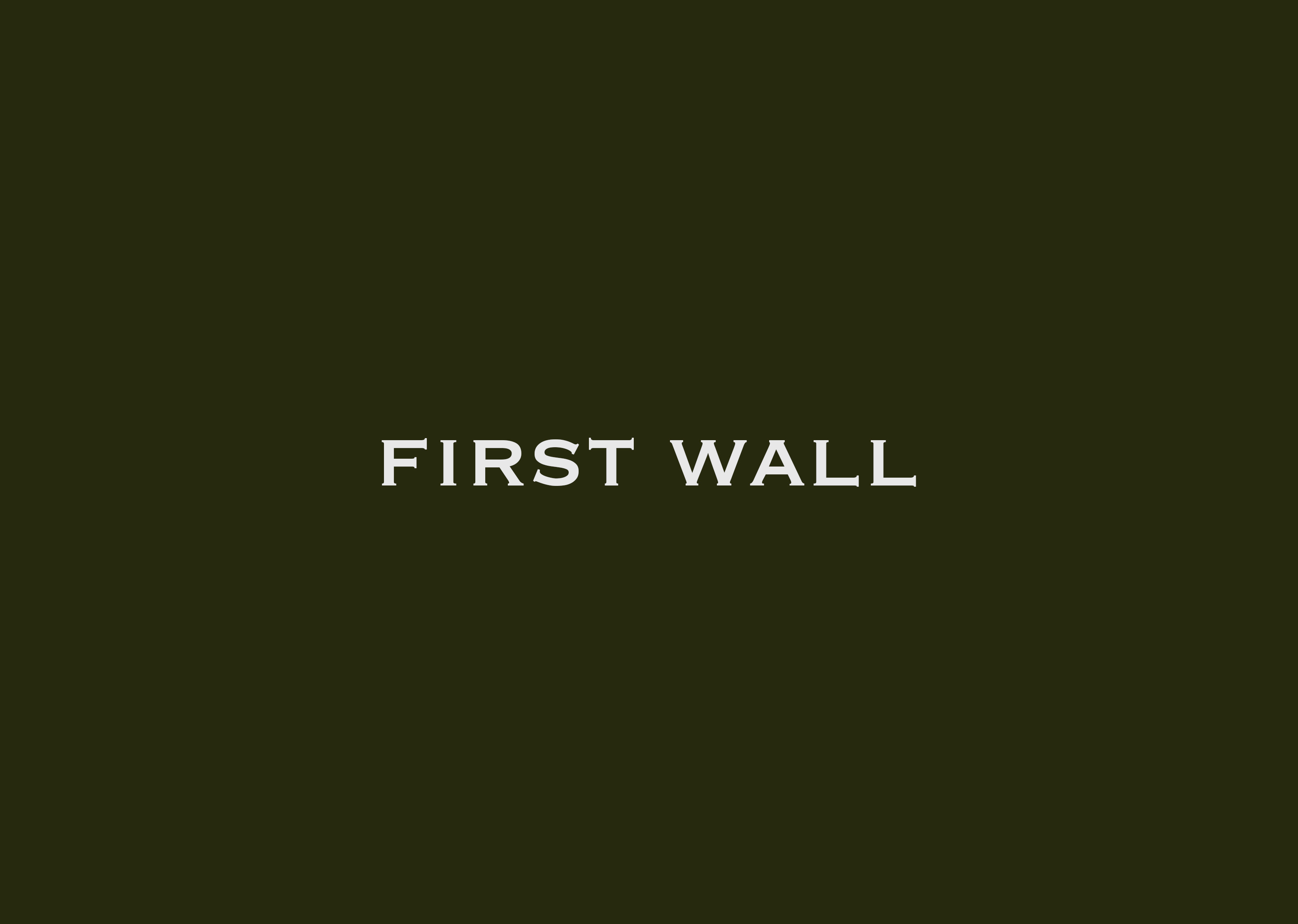 first wall_green