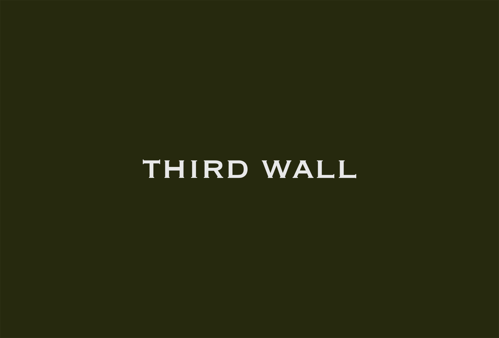 third wall_green